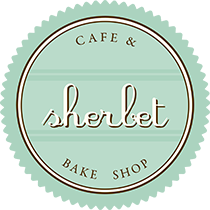 Sherbet Cafe & Bake Shop Logo